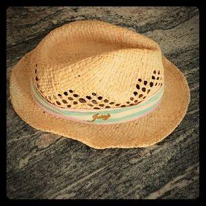 Juicy small rim straw hat